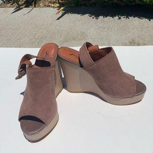 Lucky Brand Jemadine Wedge Heel Sandal